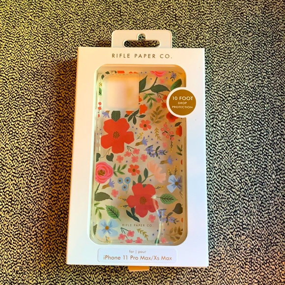 🆕 Rifle Paper Co iPhone 11 Pro Max/Xs Max Case